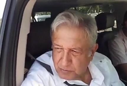 "AMLO regresa de descanso; ""Aporte como 500 mil al fideicomiso"""