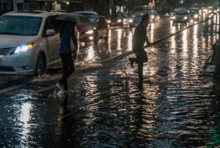 Llueve en 12 delegaciones de CDMX; reportan encharcamientos