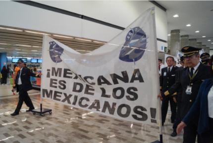 Definen liquidación para 7 mil trabajadores de Mexicana