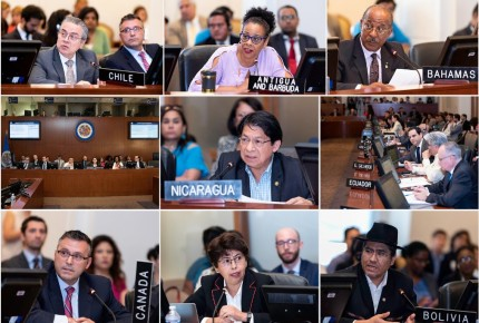 OEA exhorta a Nicaragua a pactar elecciones anticipadas con oposición