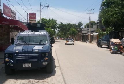 Policía Federal realiza operativo en apoyo a Bimbo en Acapulco