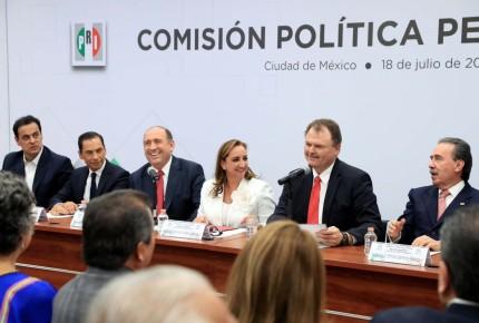 PRI convoca a cónclave para elegir a su coordinador en Senado