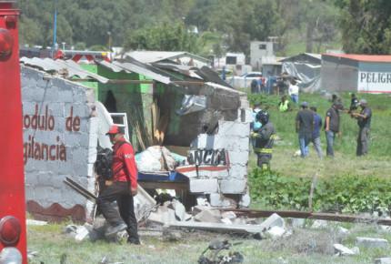 Codhem inicia investigación por explosiones en Tultepec