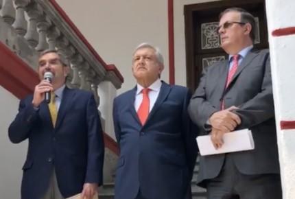 Propone AMLO a Juan Ramón de la Fuente como embajador ante la ONU