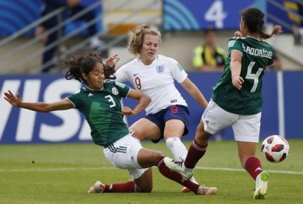 Tri femenil Sub 20 se despide del mundial con goleada; cae ante Inglaterra