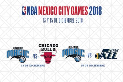 Orlando Magic jugará contra  Chicago Bulls y Utah Jazz en CDMX