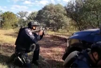 PF enfrenta a presuntos delincuentes en Chihuahua; muere un agresor
