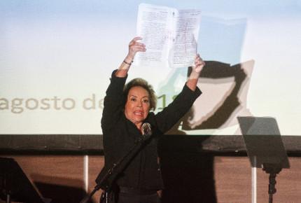 """""""Hoy, esta guerrera está en paz"""". Mensaje íntegro de Gordillo"""