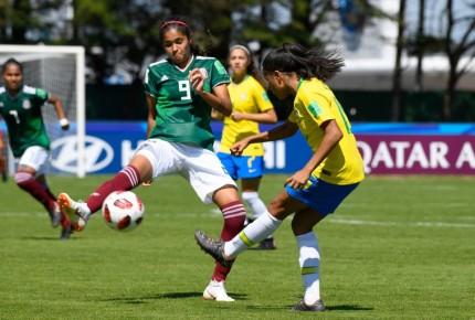 Sub 20 femenil derrota 3-2 a Brasil en arranque del Mundial