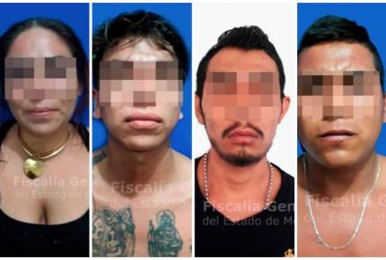 Capturan a cuatro presuntos miembros de CJNG en Morelos