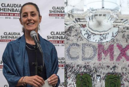 Sheinbaum despide logo 'CDMX'; emite convocatoria para renovarlo