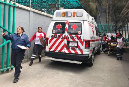Cruz Roja alista operativo para festejos patrios en la CDMX
