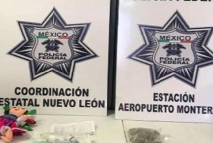 Hallan droga oculta dentro de muñeca oaxaqueña en Monterrey