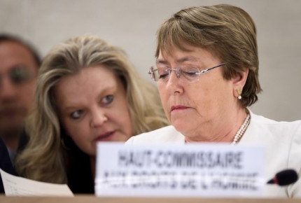 Pide Bachelet a países NO construir muros contra migrantes