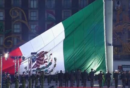 Peña iza bandera a media asta por víctimas de sismos de 1985 y 2017