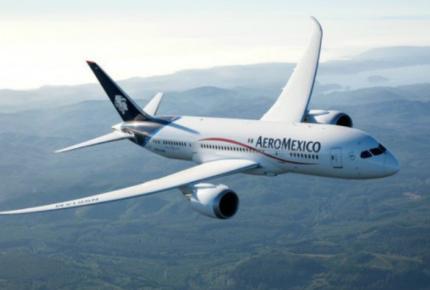 Por Covid-19, Aeroméxico recorre el planeta 87 veces con ayuda