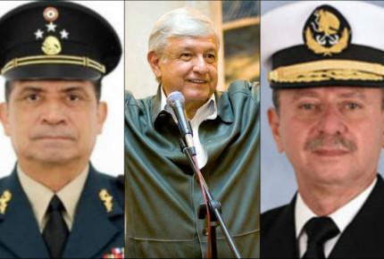 AMLO se reúne con futuros titulares de Fuerzas Armadas