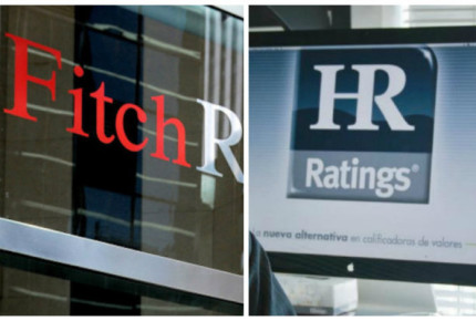 Fitch y HR Ratings cambian a negativa perspectiva de México