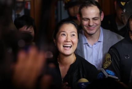 Keiko Fujimori, a un paso de volver a prisión
