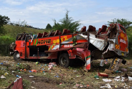 Accidente carretero en Kenia suma 51 muertos