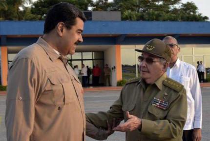 Nicolás Maduro se reúne con el expresidente Raúl Castro en Cuba