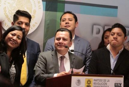 Por consulta del NAIM, PRD interpone queja contra Morena