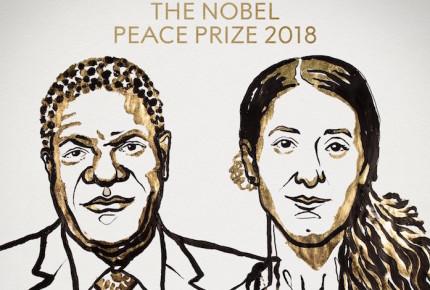 Médico y exesclava sexual del EI, Premios Nobel de la Paz 2018