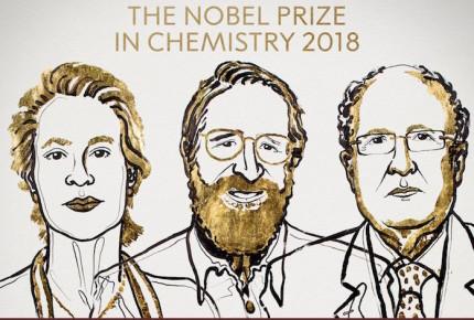 Por desarrollo de proteínas, tres obtienen el Nobel de Química 2018