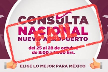 Inicia consulta sobre NAIM y se cae la página de México Decide