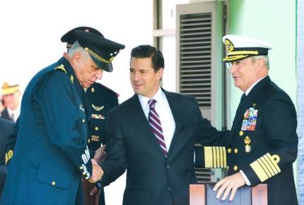 Para Peña, México está en deuda con fuerzas armadas