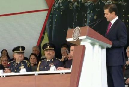 Peña Nieto ve vacío legal para Fuerzas Armadas tras fallo de Corte