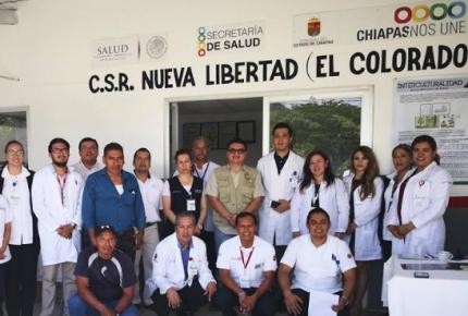 Sector salud de Chiapas recibe atención a sus demandas
