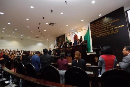 Manuel Velasco presentó su 6o. Informe de Gobierno