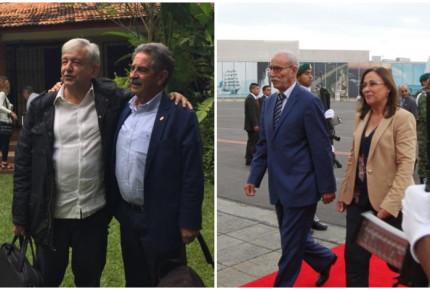 Presidentes de Cantabria y República Árabe Saharaui llegan a investidura de AMLO