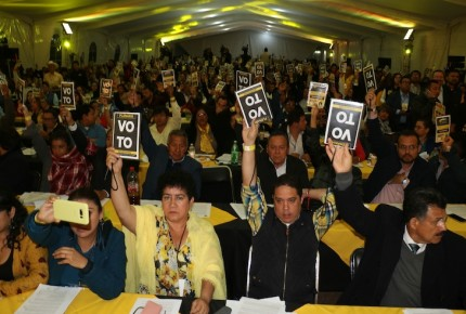 Tras zafarrancho, reanudarán Congreso del PRD este domingo