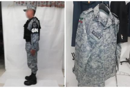 Aun sin reforma de seguridad, ya hay uniforme de Guardia Nacional