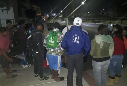Liberados 70 migrantes retenidos en Sonora