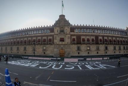 Le pega corte de agua a Palacio Nacional; suspende actividades