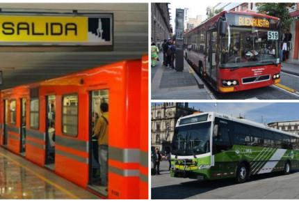 Servicios de transporte en la CDMX anuncian horario navideño