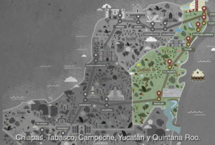 Lanzan canales oficiales del Tren Maya