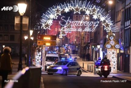 Indagan terrorismo por tiroteo a bazar en Estrasburgo; 4 muertos y 10 heridos