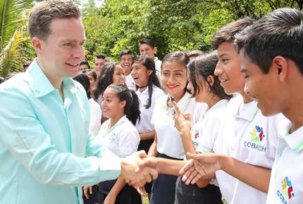 Con mensaje a la ciudadanía Manuel Velasco destacó los avances en Chiapas