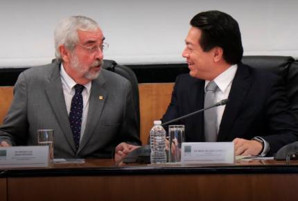 Rector de la UNAM y director del 'Poli' prometen bajarse sueldo
