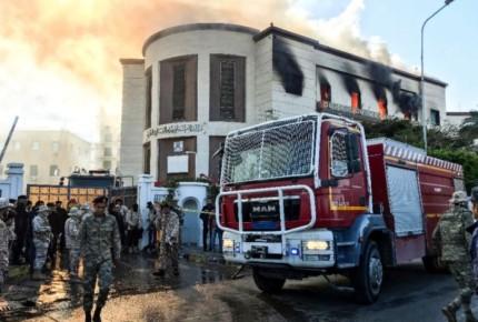 EI reivindica ataque contra ministerio de exteriores de Libia