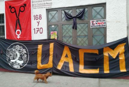 Estudiantes de UACM exigen salida de rector por presunta corrupción
