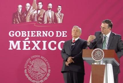 México dará trato humanitario, no deportará migrantes: Ebrard