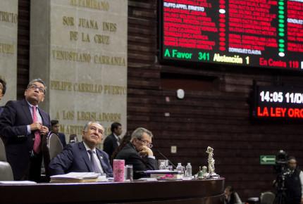 Sin cambios avalan Ley Orgánica de la Fiscalía General de la República; pasa al Ejecutivo