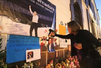 Poblanos organizan memorial para Martha Erika  y Moreno Valle