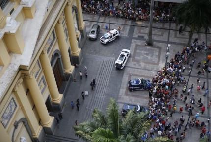 Tiroteo en catedral cerca de Sao Paulo deja 6 víctimas mortales