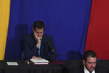 Guaidó fue sustituido de Presidencia del parlamento venezolano